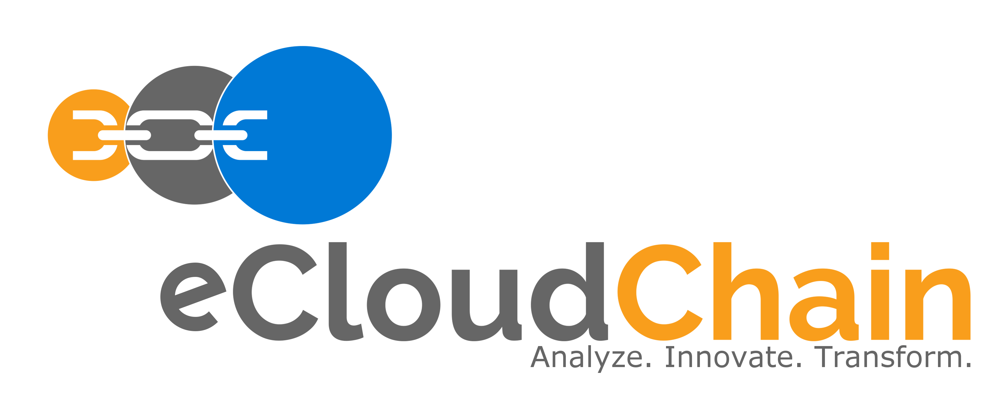 eCloudChain Company Logo Header